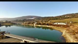 Vol drone Phantom 3 4K (Barrage de Charmine à Matafelon-Granges)