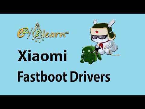Install Fastboot Bootloader Interface ADB Android Driver For Any Xiaomi Phone By Ezy2learn