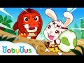 Animal's New Friends | Shark, Dinosaur, Lion, Elephant & More | Kids Songs | BabyBus