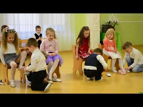 Веселая игра с детьми Утренник 8 Марта Средняя группа
