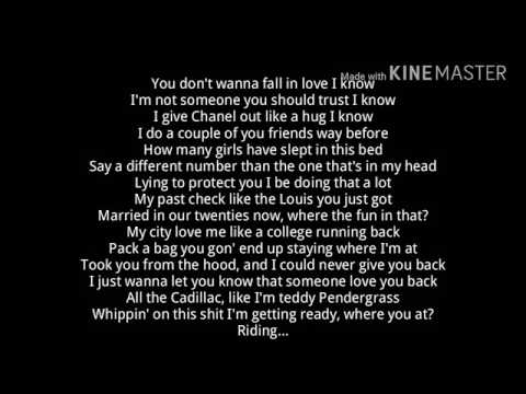 Drake Childs Play Lyrics