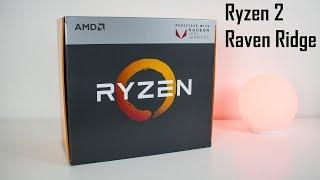 """Ryzen  """"Raven Ridge"""" - rozpakowanie paczki od AMD."""