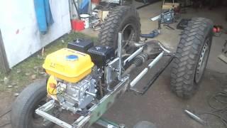 My Little Homemade Garden Tractor Part2 / 6.5hp