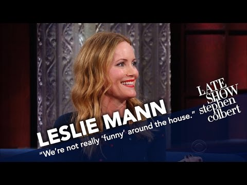 Leslie Mann Doesn't Think Husband Judd Apatow Is Funny