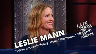 failzoom.com - Leslie Mann Doesn't Think Husband Judd Apatow Is Funny