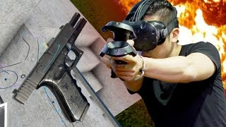 VR REAL GUNS - Hot dogs, Horseshoes & Hand Grenades