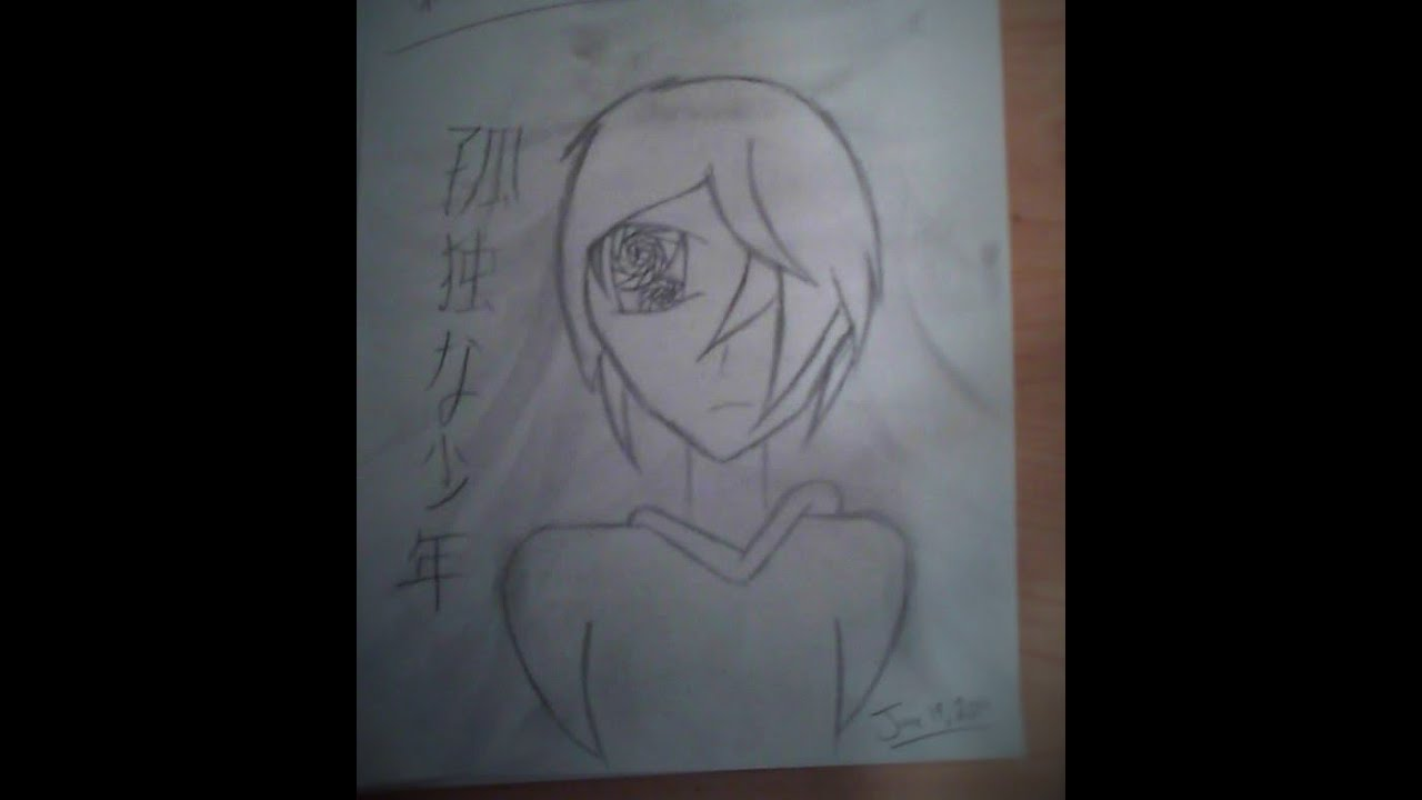 Sad Boy Alone Quotes: How To Draw Anime Lonely Boy