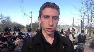 Refugees from Around the World at Greek-Macedonian Border