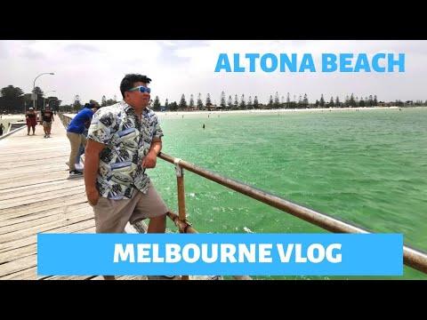 SWIM TIME IN ALTONA BEACH - MELBOURNE VLOG 9