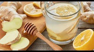 ИМБИРНЫЙ ЧАЙ✔️ Корень Имбирь Mед лимон Pецепт Как Приготовить