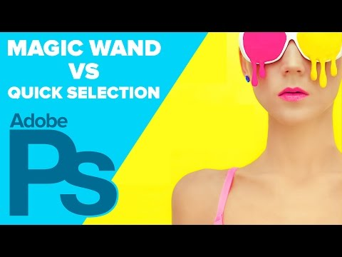 How To Use The Magic Wand And Quick Selection In Photoshop