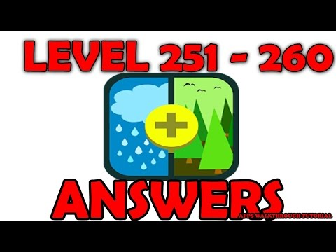 Pic Combo Level 251 - 260 - All Answers - Walkthrough ( By LOTUM media GmbH )