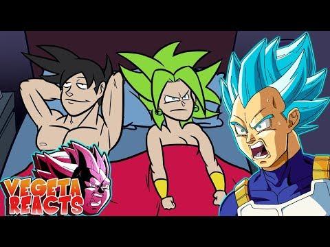 Vegeta Reacts To KEFLA PAYBACK, Dragon Ball Super Parody