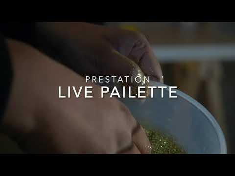 easyevent.fr - Tableau paillettes/peinture