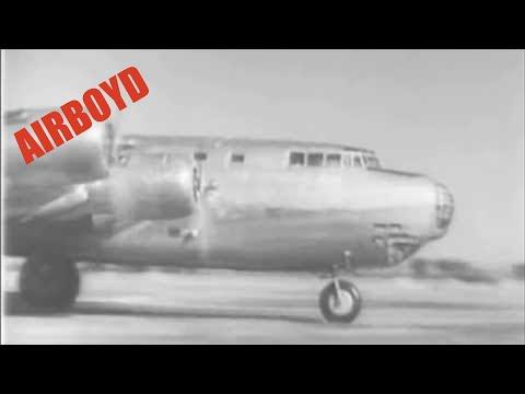 Douglas XB-19 Taxi Testing (1941)