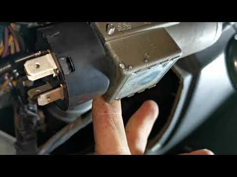 Daewoo Nexia Делаю разгрузочное реле на контактную группу замка зажигания