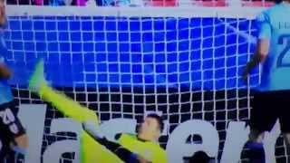 URUGUAY VS PARAGUAY 1-1 20/06/2015 GOAL Lucas Barrios