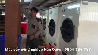 Máy sấy quần áo chăn màn khăn ga công nghiệp cháy hàng