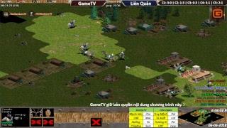AOE | 4vs4 Random | GameTV vs Liên Quân  | Ngày 06-06-2018