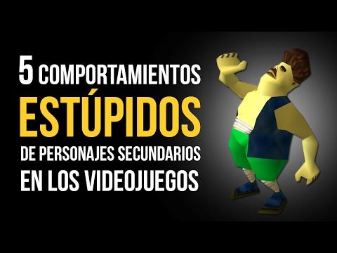 5 COMPORTAMIENTOS ESTÚPIDOS De Los PERSONAJES SECUNDARIOS De Los Videojuegos