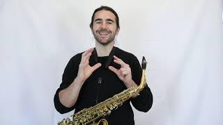 Composer Resources: Saxophone, Fluttertongue & Growl / Joshua Hyde