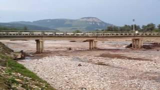 Прибытие воды. Река Ходзь