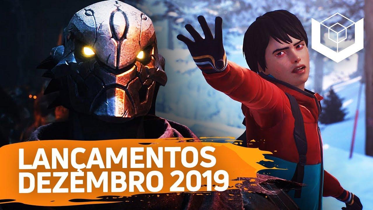 Os LANÇAMENTOS DE JOGOS mais aguardados de DEZEMBRO de 2019 (PS4, Xbox One, Switch, PC, Stadia)