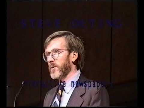 interactive publishing, zurich 1995 Esther Dyson, Steve Outi