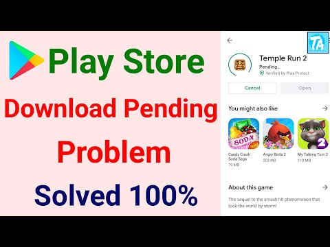 Play Store Pending Problem Solved | Fix Playstore Download Pending Problem