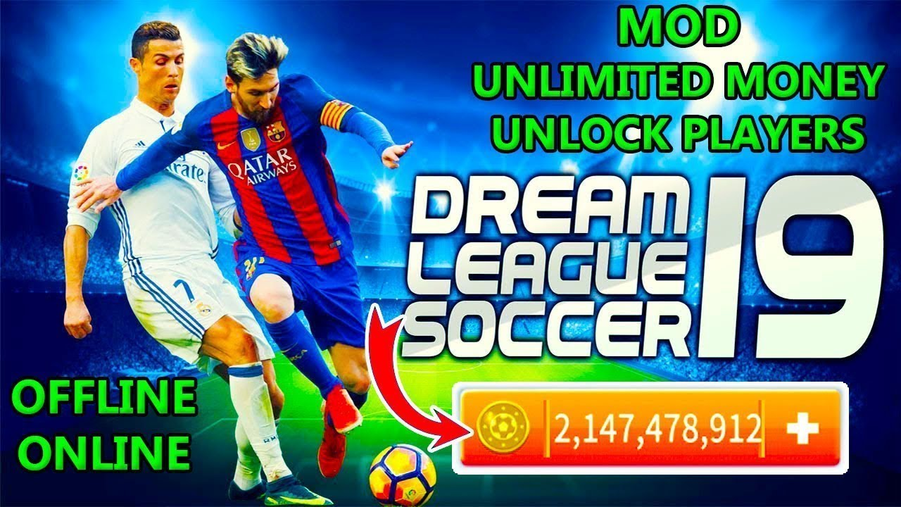 dream league soccer 2019 mod unlimited money