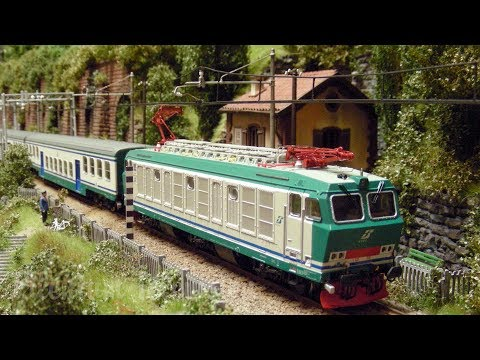 Treni in Transito: Rail Transport Modeling in Italia – The Superb Model Railroad by Carlo Viganò