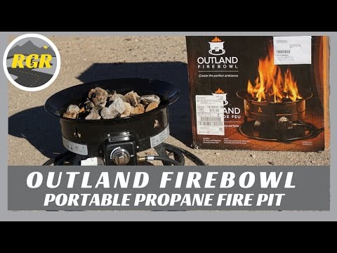 Outland Firebowl | Product Review | Portable Propane Fire Pit