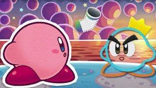 Kirby's Epic Yarn - All Cutscenes (Full Movie)