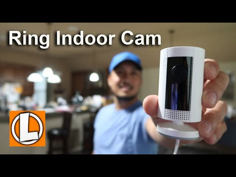 Ring Indoor Cam Review - Unboxing, Features, Settings, Setup, Sample Footage