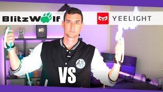 Tiras LED Yeelight vs Blitzwolf ¿cuáles merecen más la pena?