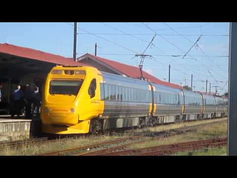 Brisbane to Bunaberg by TILT and TILTLANDER trains. John Coyle video.