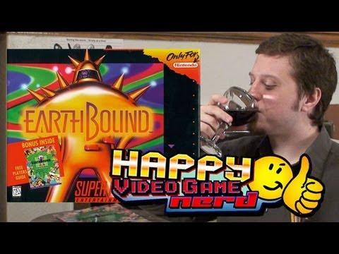 Happy Video Game Nerd: Earthbound (2012 Expanded and Reedited)