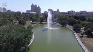 Parks of Odessa - Copter view Парк Победы - вид с коптера Одесса 2015