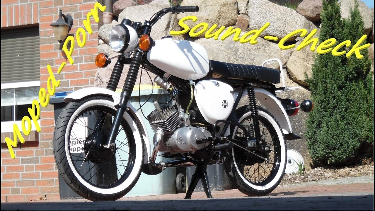 simson s50 s51 moped porn soundcheck tuning. Black Bedroom Furniture Sets. Home Design Ideas