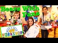 BUILD A BEAR With My #1 FAN!!! Building Bear Workshop Special Store Visit + Cute Toys DisneyCarToys