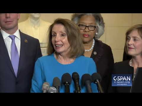 Nancy Pelosi on nomination to be Speaker of the House (C-SPAN)