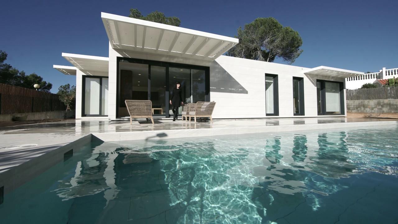 Casa Terminada Modelo Manacor En Ibiza Casas Inhaus Youtube
