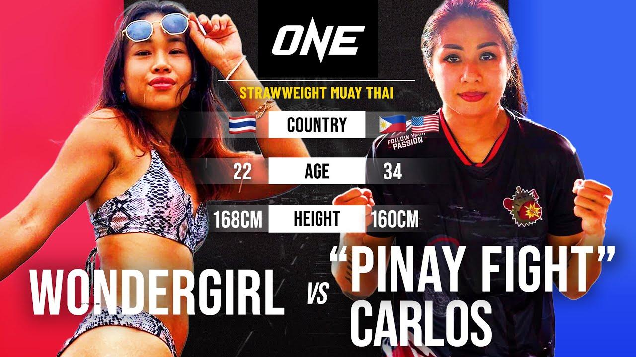 Wondergirl vs. KC Carlos   Full Fight Replay