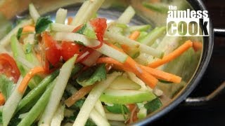 Thai-style Green Apple Salad