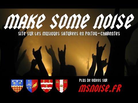 MAKE SOME NOISE, site sur les musiques saturées en Poitou-Charentes