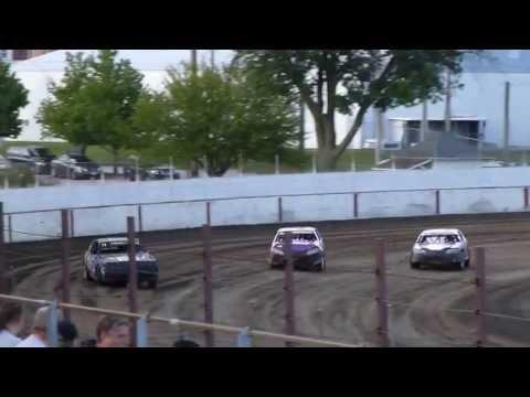 west liberty raceway stock car heat 2 part 2 7/27/13