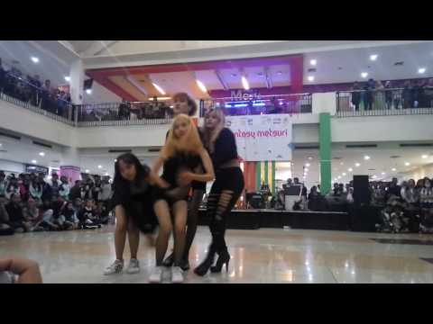161113 Pink Area - Playing With Fire + Boombayah + BBHMM (Blackpink Dance Cover) @Mayasari Plaza TSM