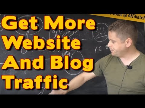 2017 How To Get More Traffic To Your Website Or Blog: Get Instant Website Traffic Right Now!