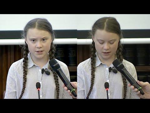 """Greta Thunberg attacca i politici al Senato Italiano: """"Ci avete solo mentito"""""""