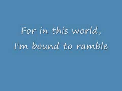I Am A Man Of Constant Sorrow With Lyrics